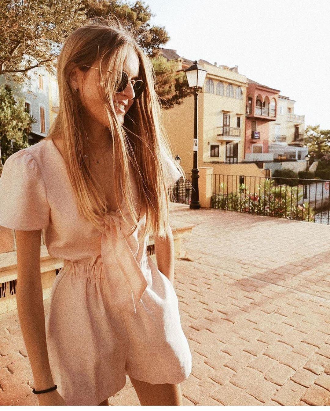 combi-short à nœud de Zara sur zara.outfits