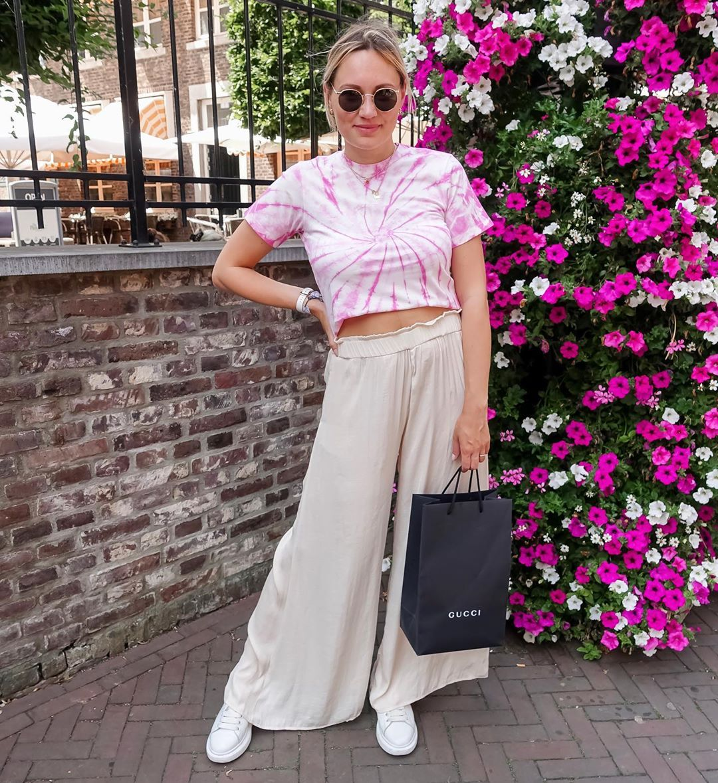 flowing wide pants de Zara sur iraundbellchen