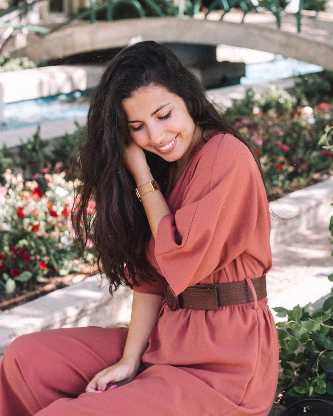 wrap jumpsuit with belt de Zara sur amiudatemlata