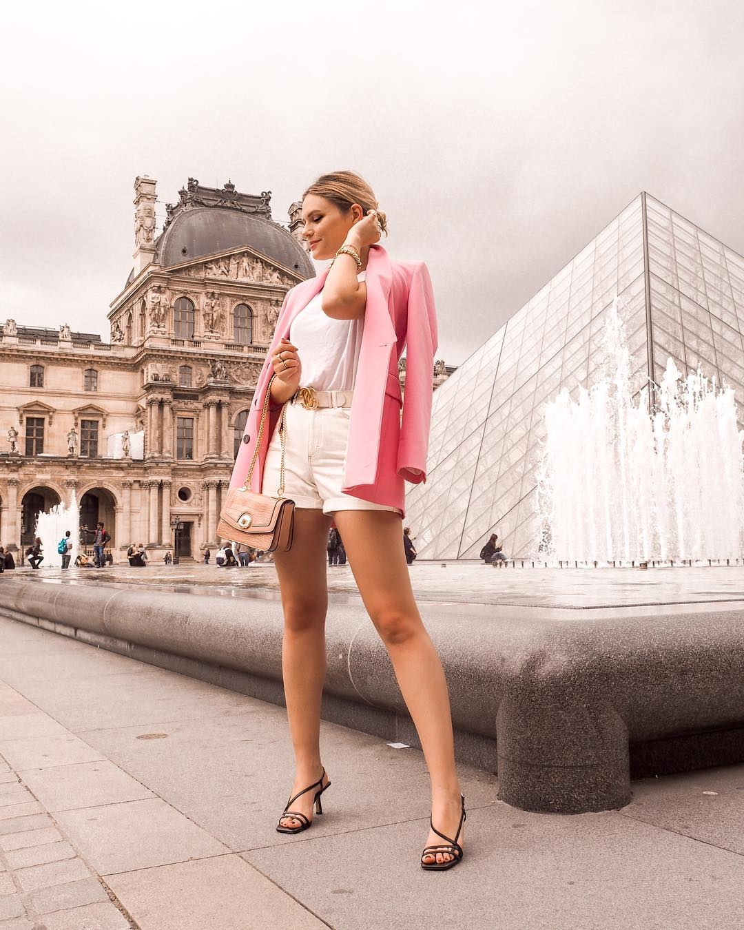 crossover breasted jacket de Zara sur jesschamilton