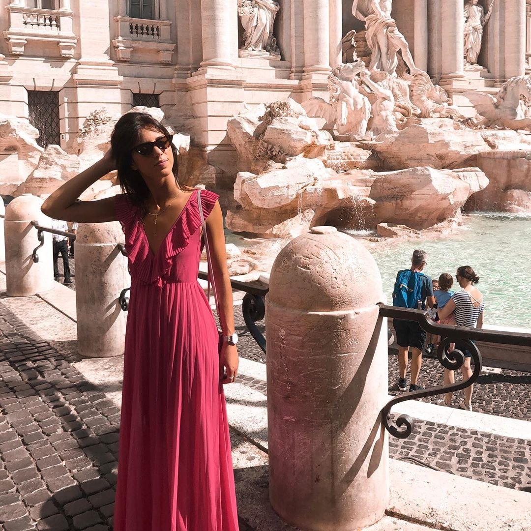 pleated dress de Zara sur saraferviana