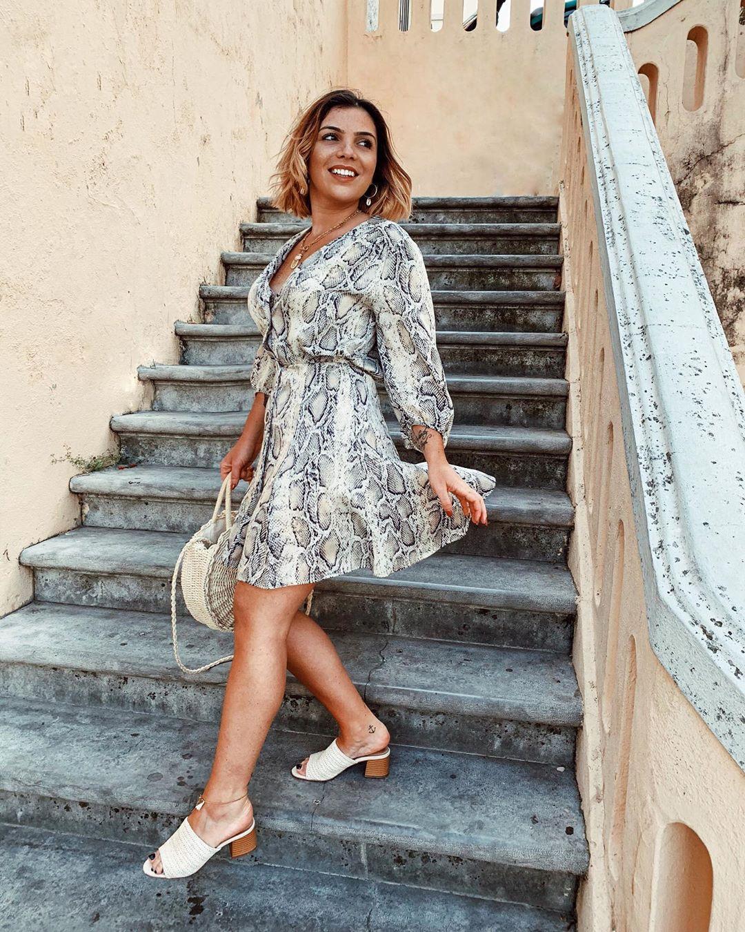 animal print dress de Zara sur susanabatalha03