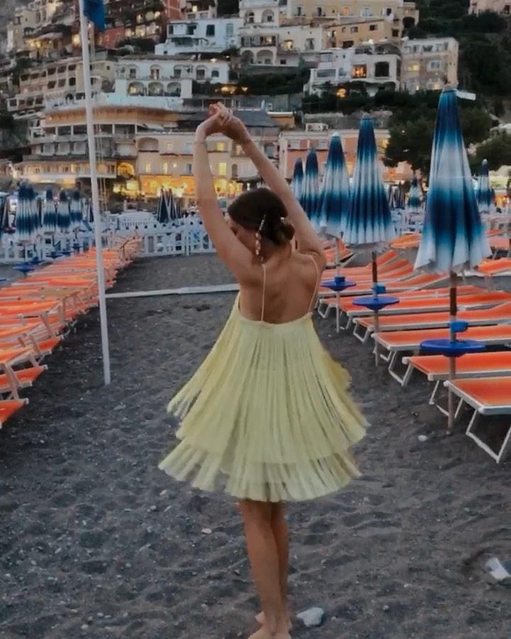 fringed dress de Zara sur lizmaryfields