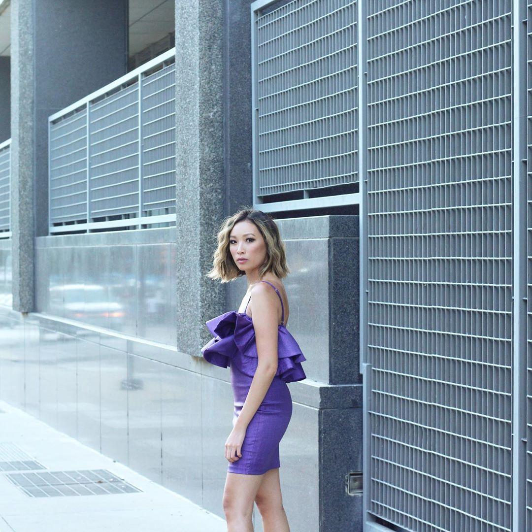 dress with ruffles and metallic thread de Zara sur iiresistiblechic