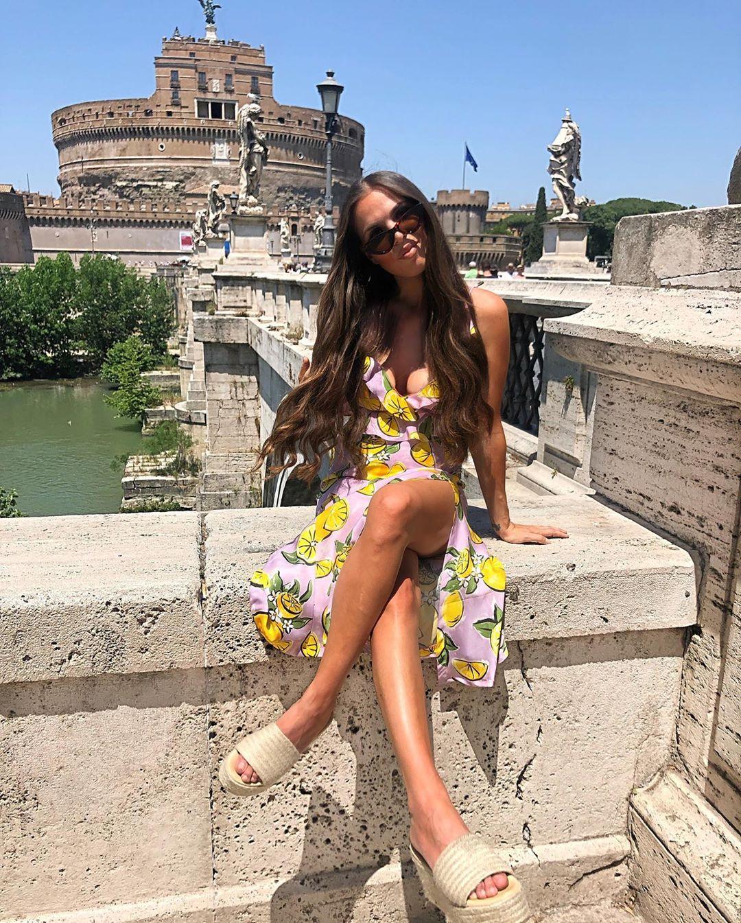 skirt with lemon print de Zara sur sandryferrero