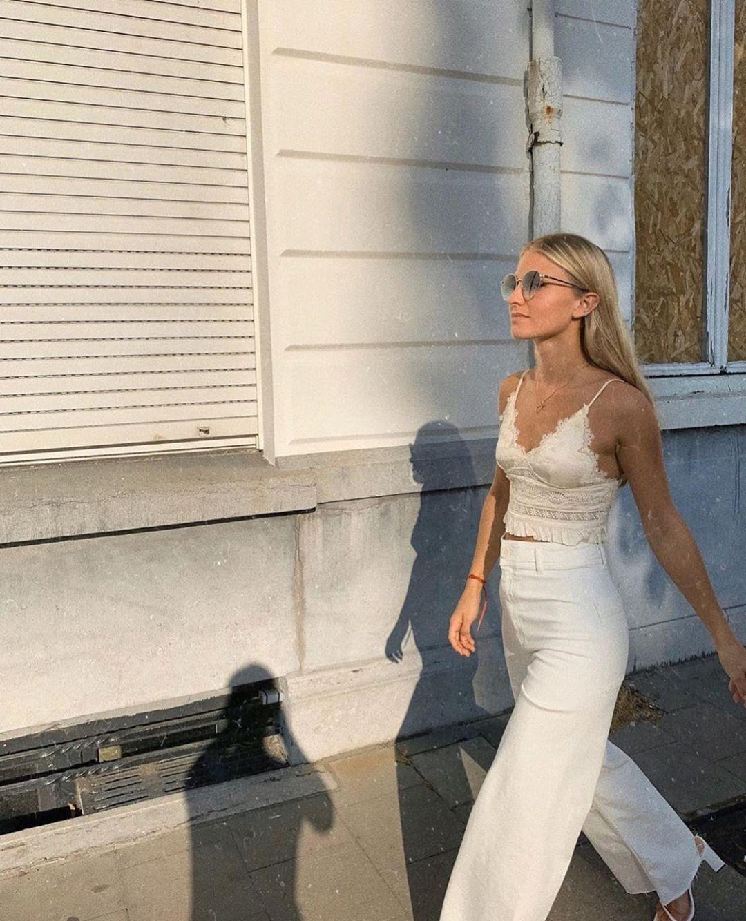 top court style lingerie avec dentelle de Zara sur zara.mania