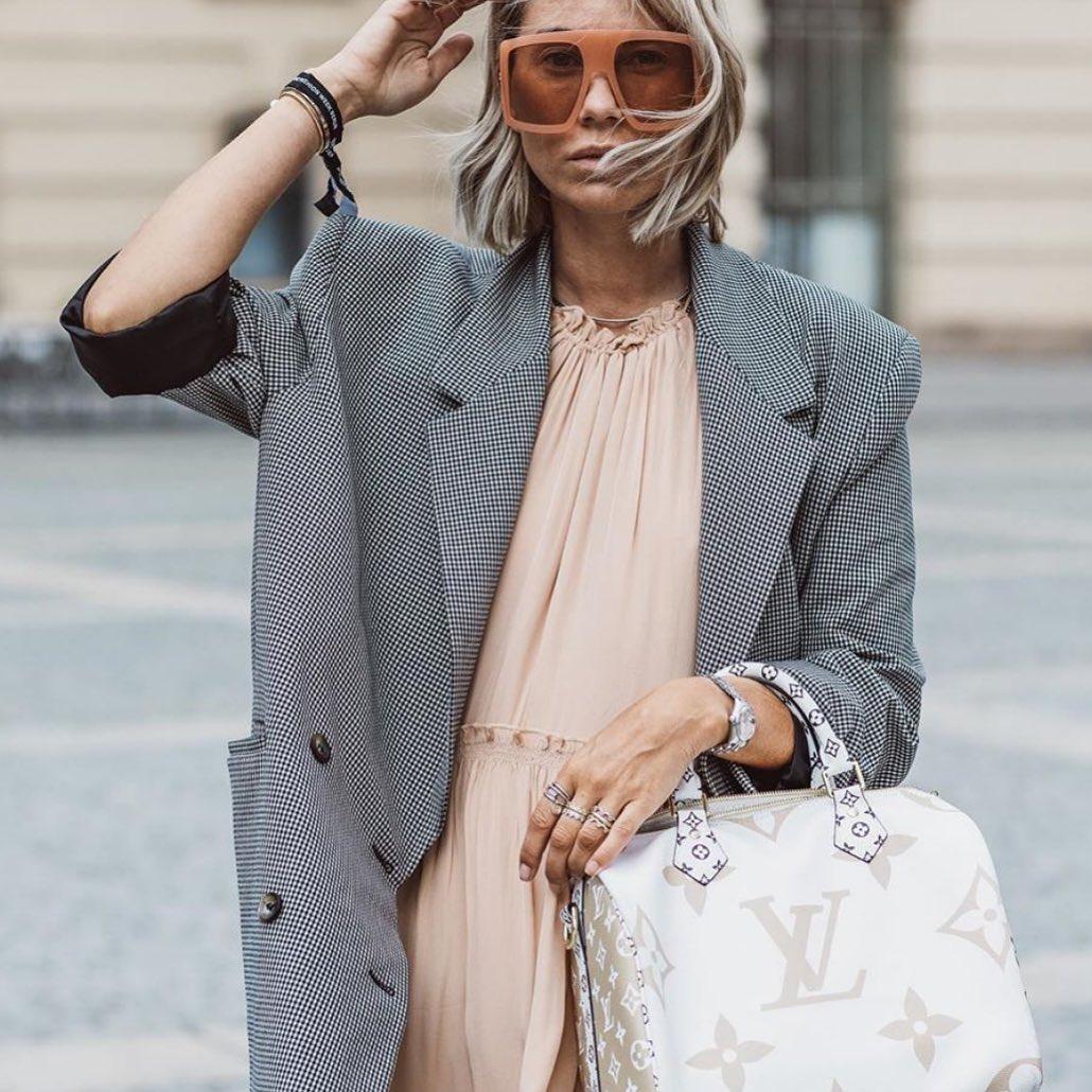 plaid jacket de Zara sur fashion_viadi