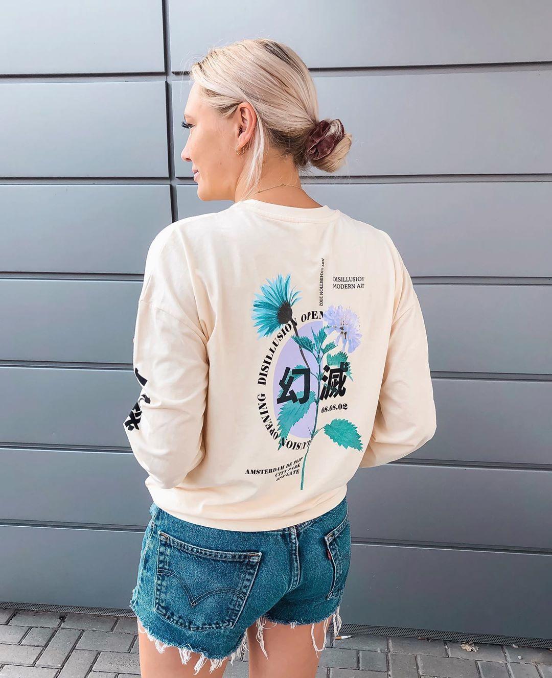 short levis 501 jeans light blue side pulls  de Les Bourgeoises sur iraundbellchen