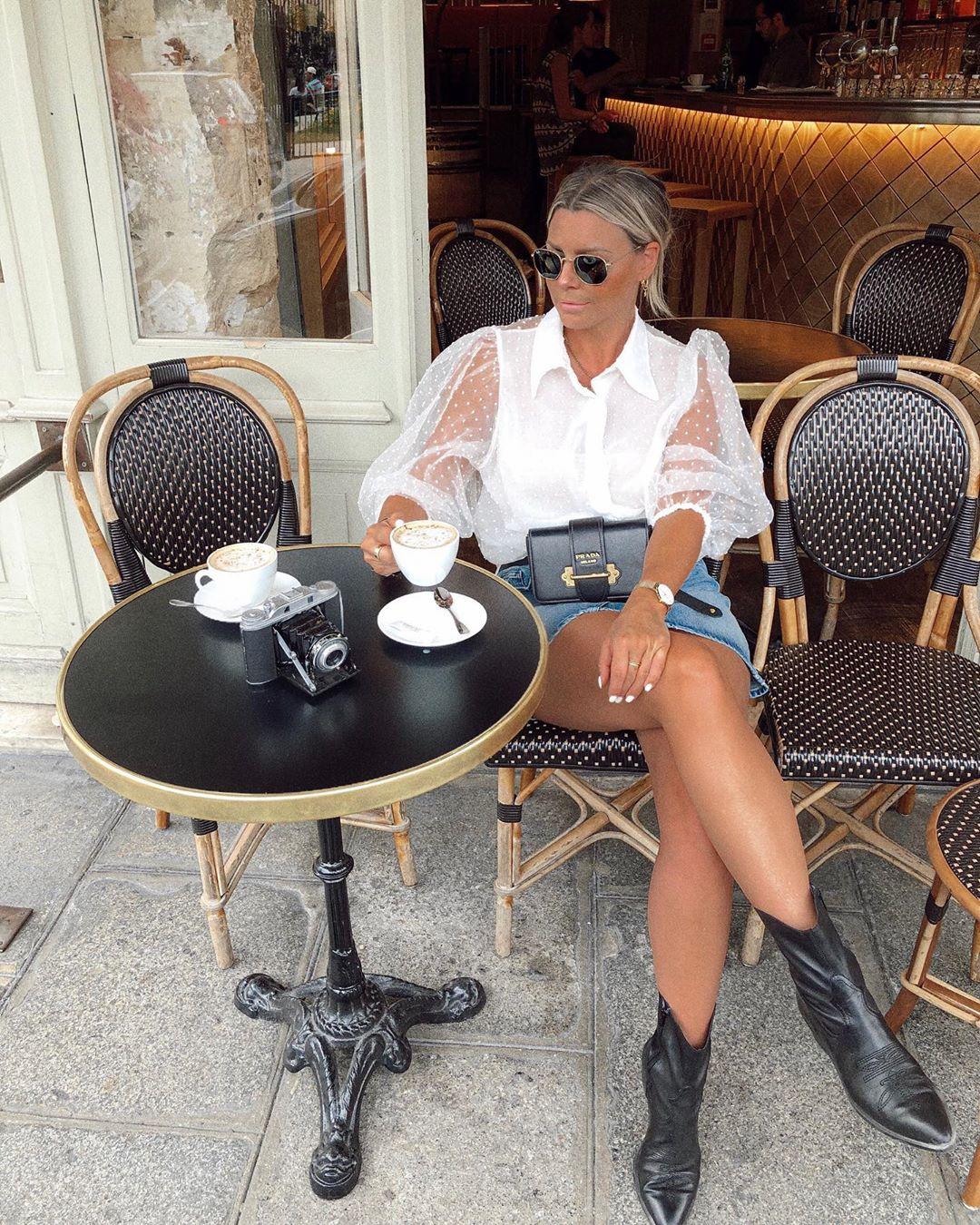 pointed leather ankle boots de Bershka sur verena_ahmann