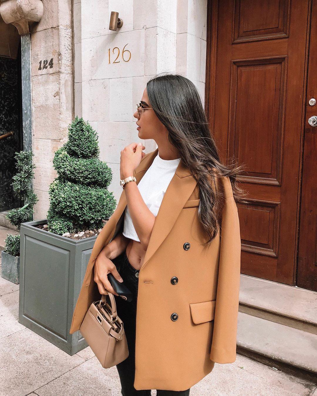 oversized blazer de Zara sur cris.tinel