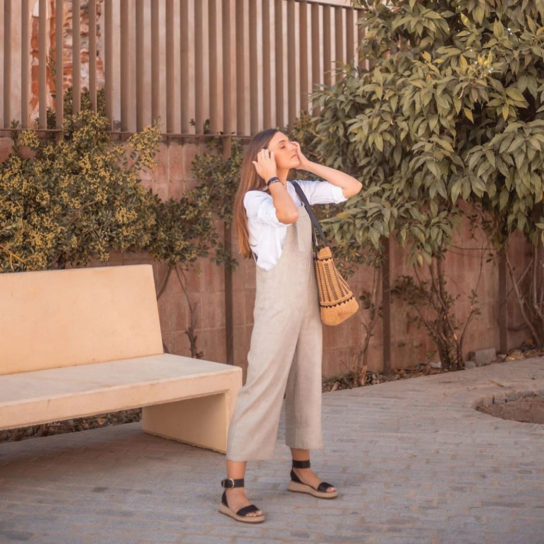 combinaison avec poche de Zara sur zara.outfits