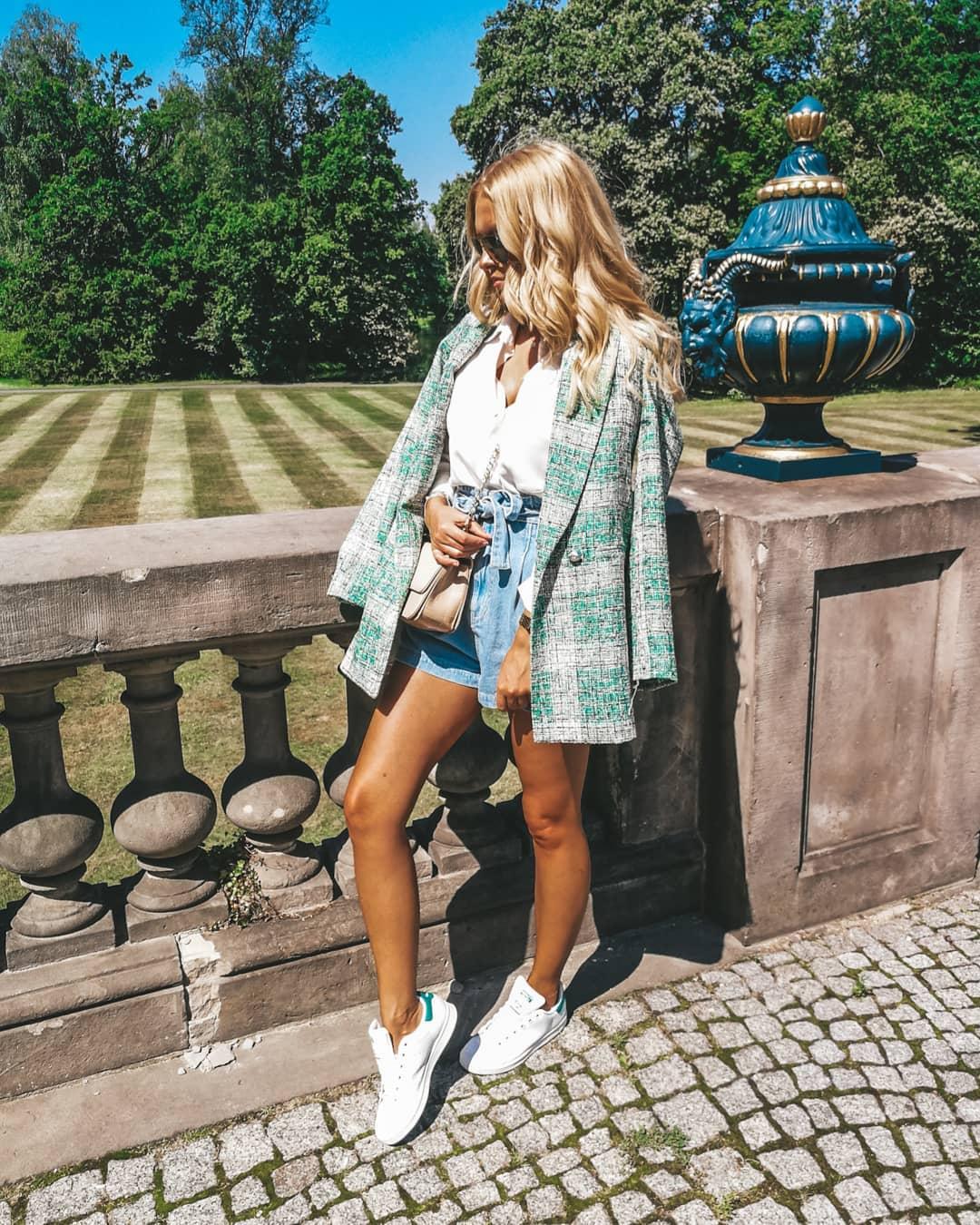 plaid frock coat de Zara sur heymissangel