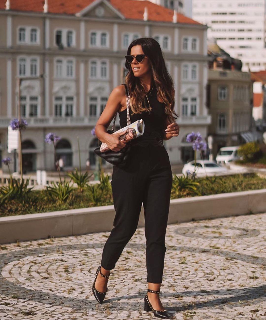 combinaison à découpes de Zara sur zara.outfits