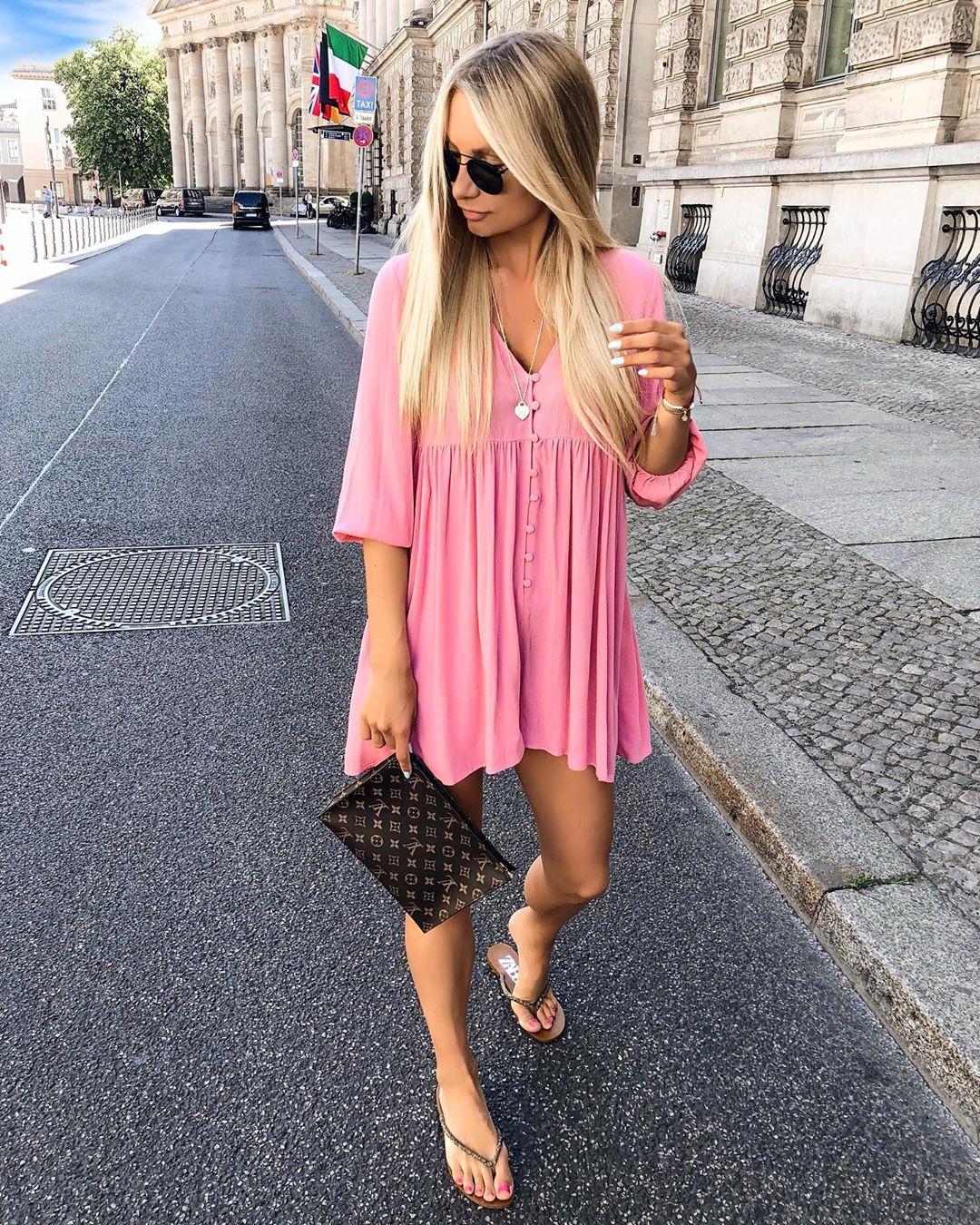 jumpsuit dress with buttons de Zara sur annisofiagerlach