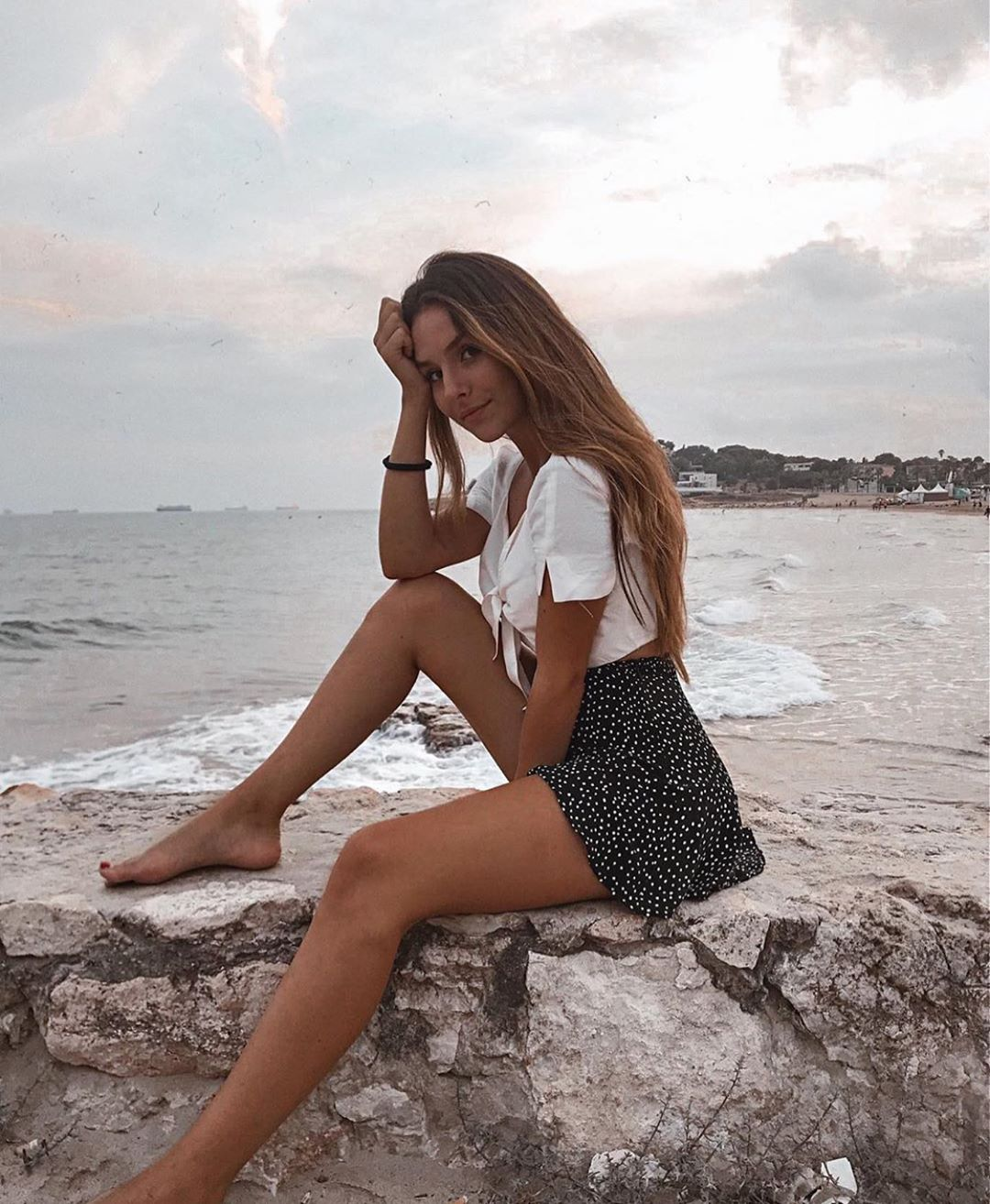 jupe-short plissée de Zara sur zara.outfits