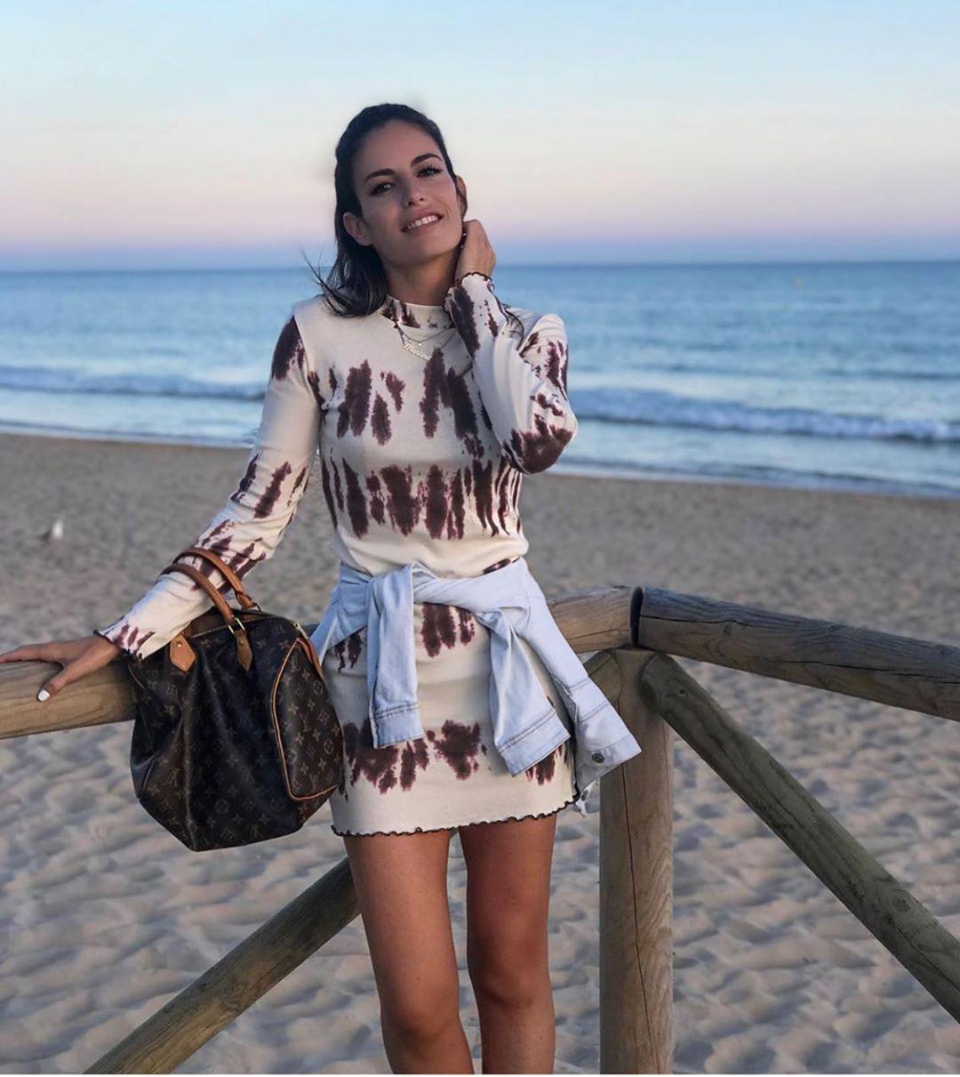 robe tie-dye de Zara sur zara.outfits