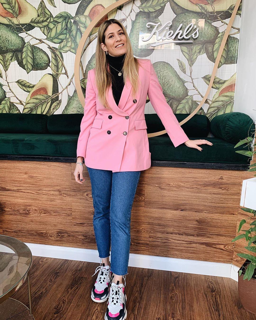 crossover breasted jacket de Zara sur teffkazeliandiez