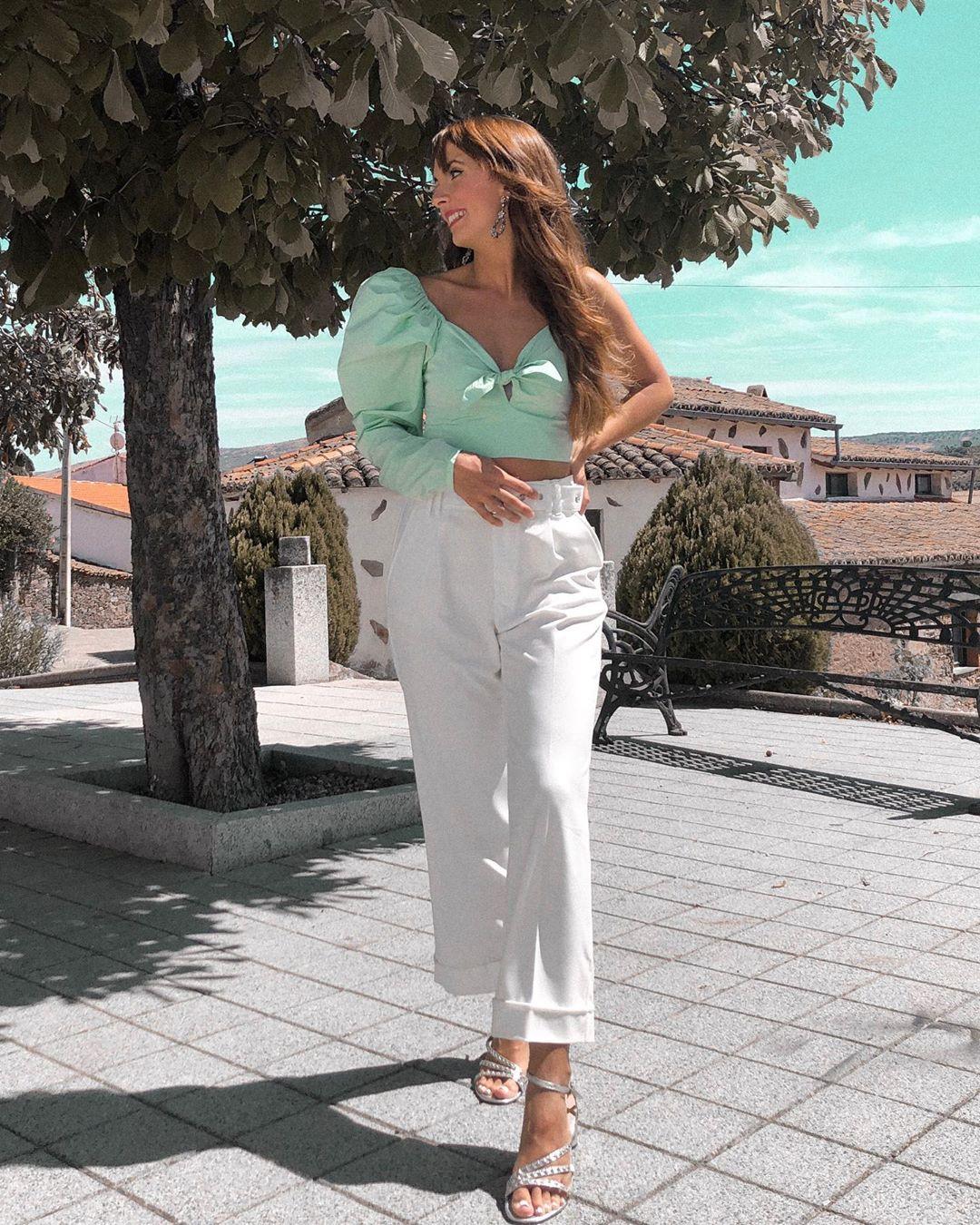 limited edition puff sleeve top de Zara sur veronicacasero
