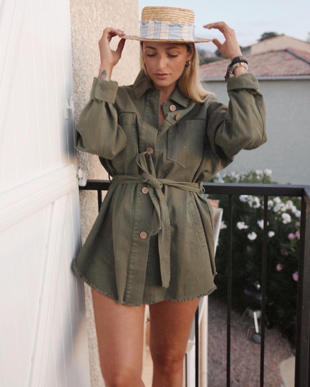 belt jacket de Zara sur manonlaime