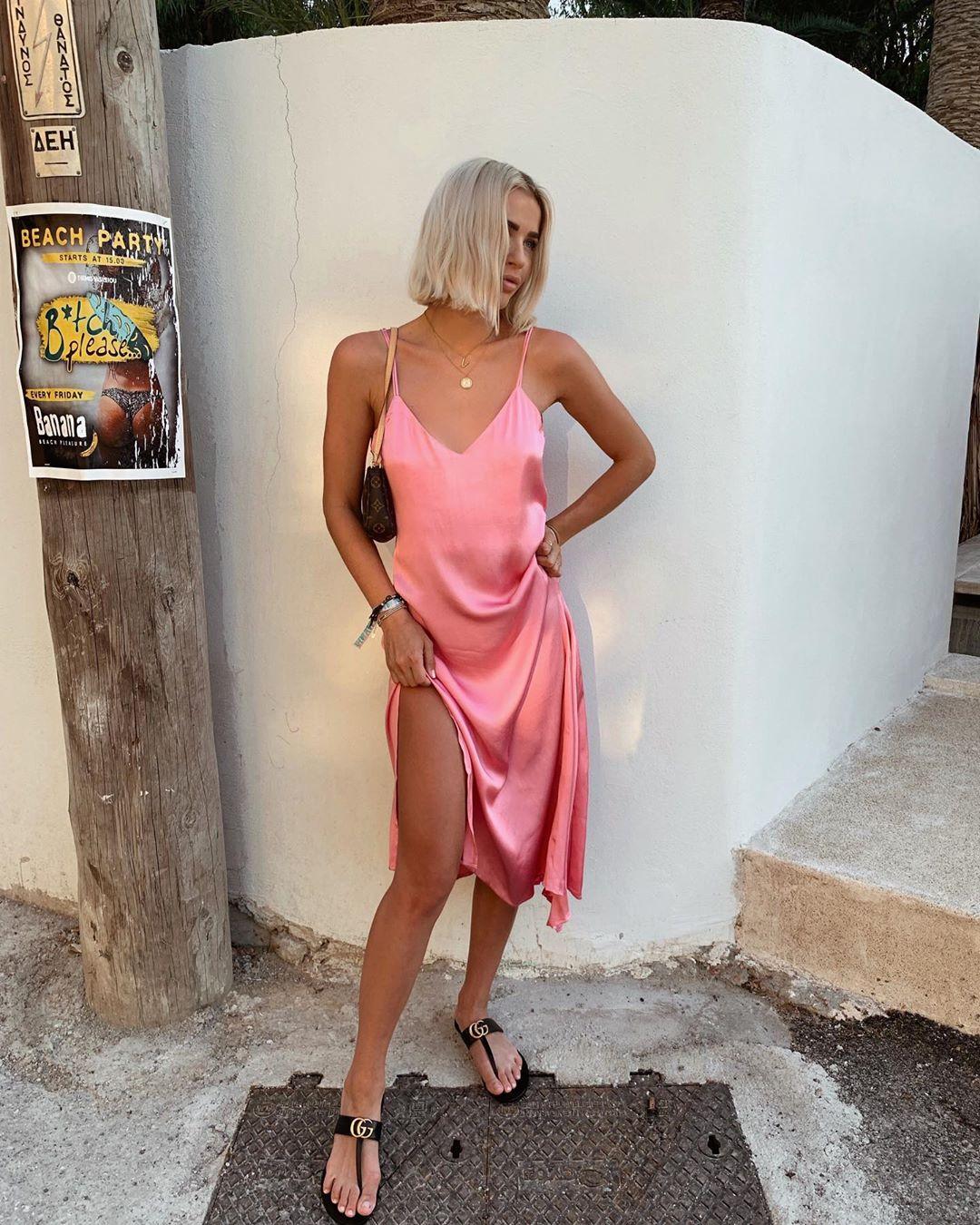 dress style lingerie asymmetric de Zara sur valentina.steinhart