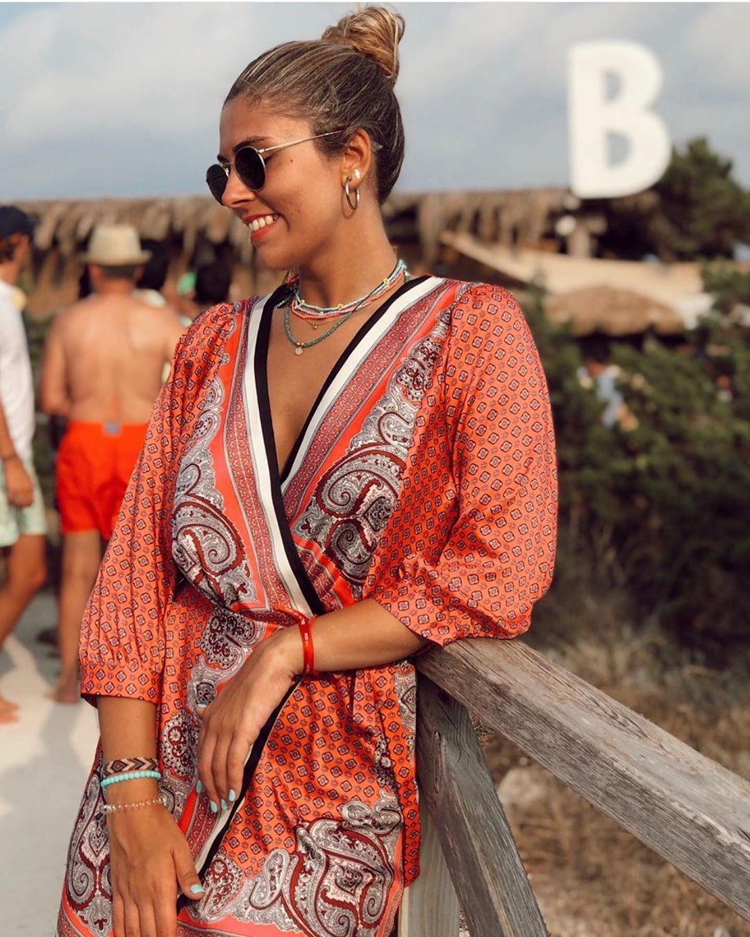 printed kimono de Zara sur zara__lovers