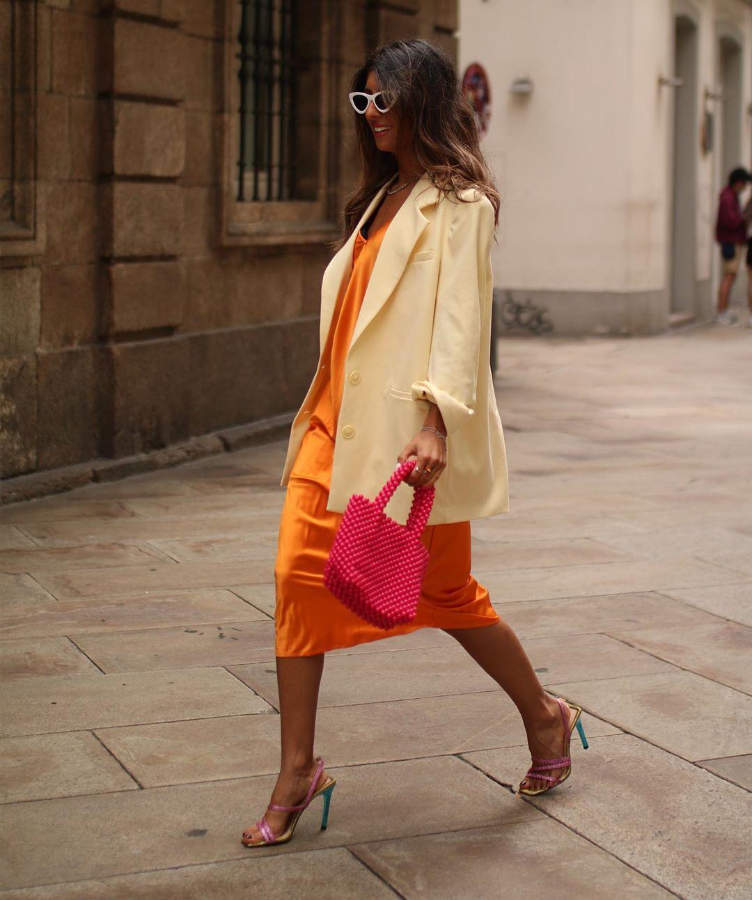 premium lingerie style dress de Zara sur maarttaan