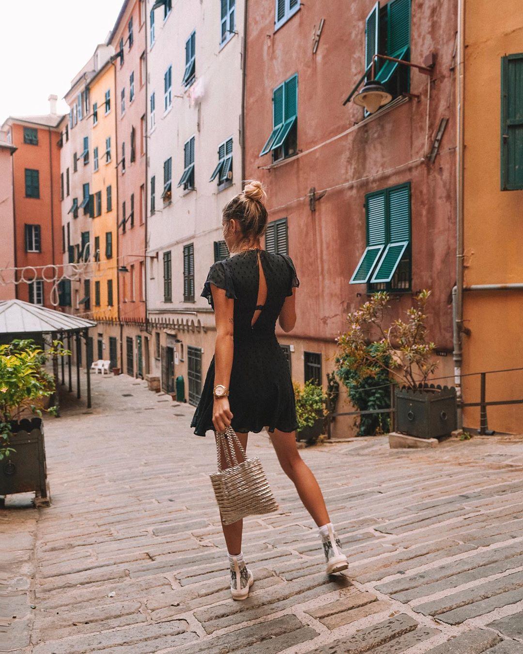 mini metallic shopper bag de Zara sur romy