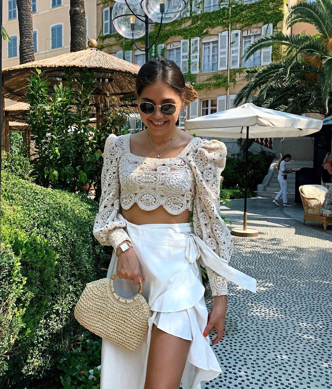 puff sleeve structured top de Zara sur yasminrobert