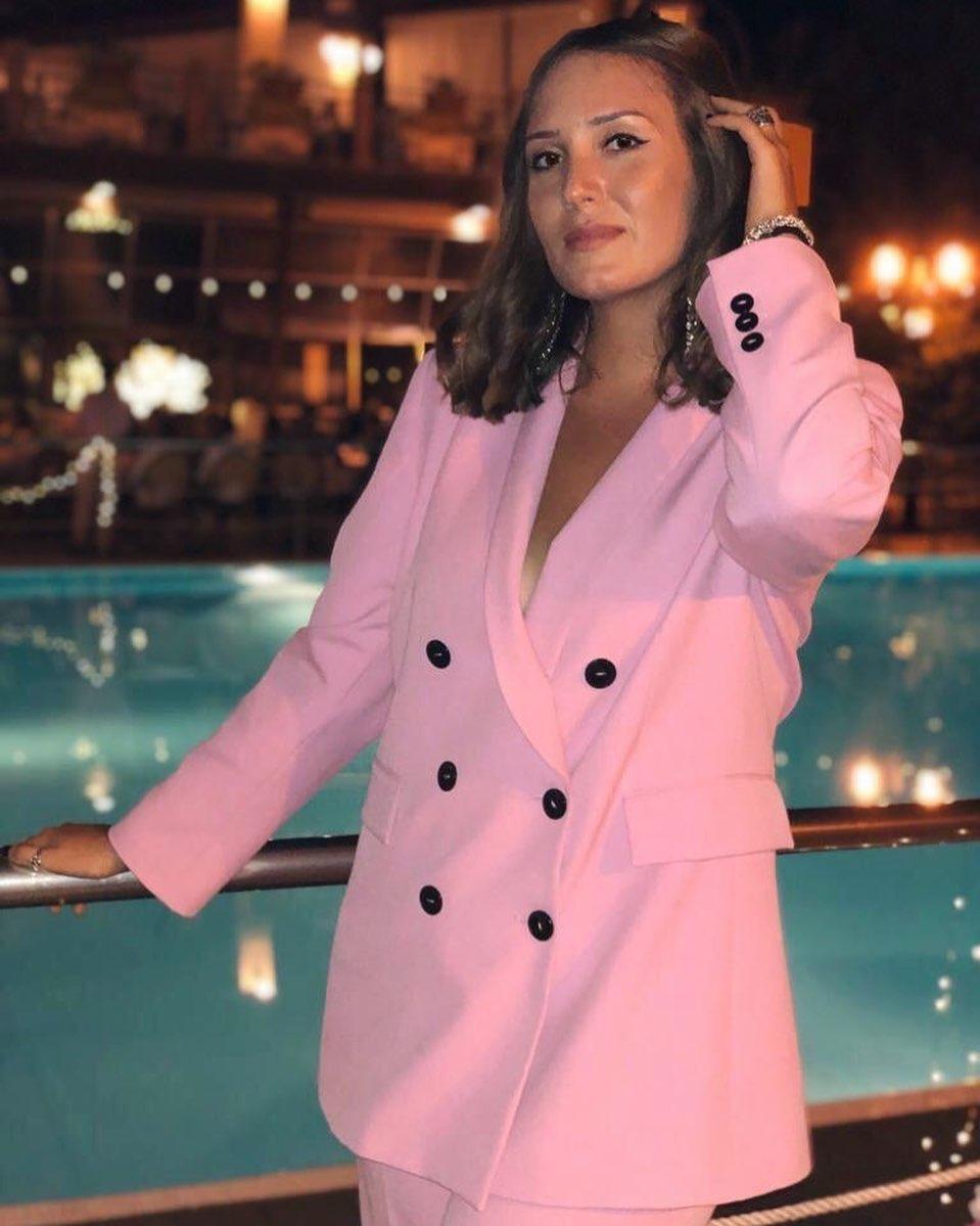 crossover breasted jacket de Zara sur grechiara