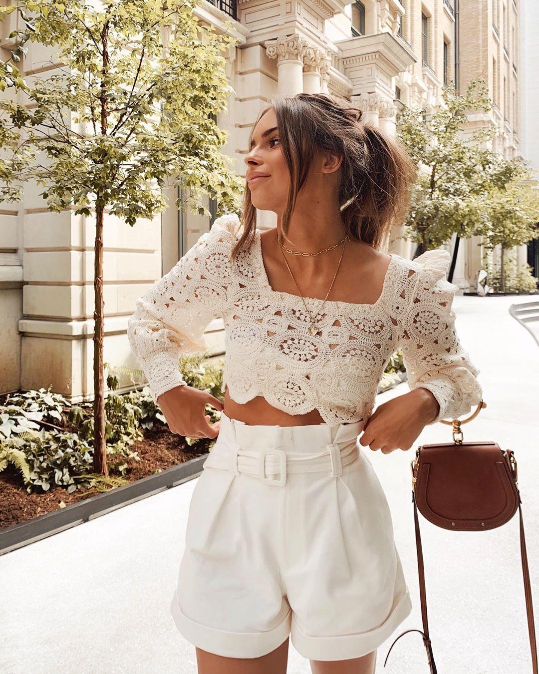 short à ceinture de Zara sur jodielapetitefrenchie