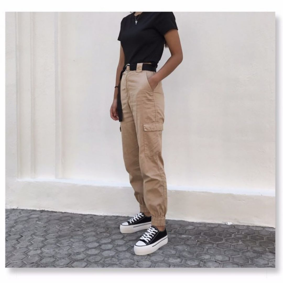 satin battle trousers de Zara sur zaraaddiction
