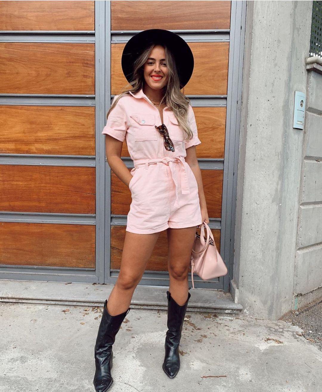 bottes en cuir avec talons cow-boy de Zara sur zara.outfits