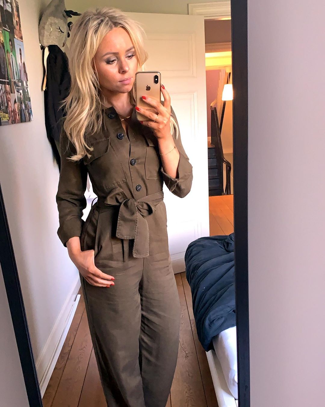 jumpsuit with pockets and belt in pure lyocell de Massimo Dutti sur xfloorvastmans