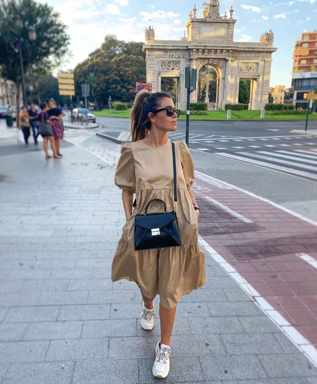 robe asymétrique en popeline de Zara sur zara.outfits