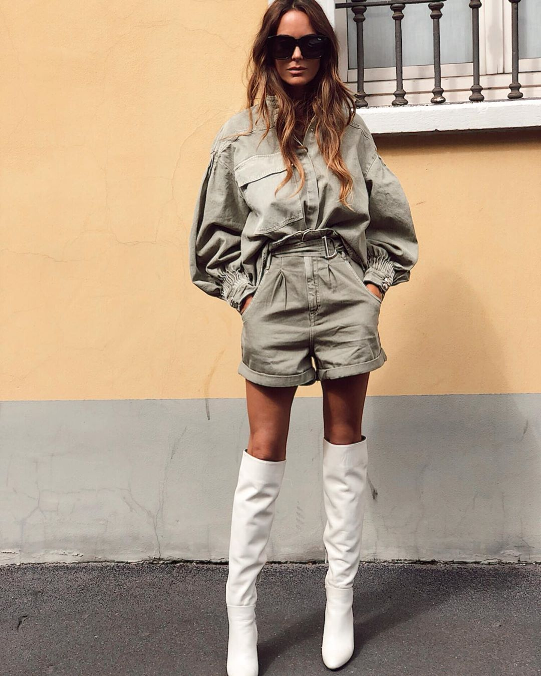 pleated waist shorts de Zara sur mariatilve