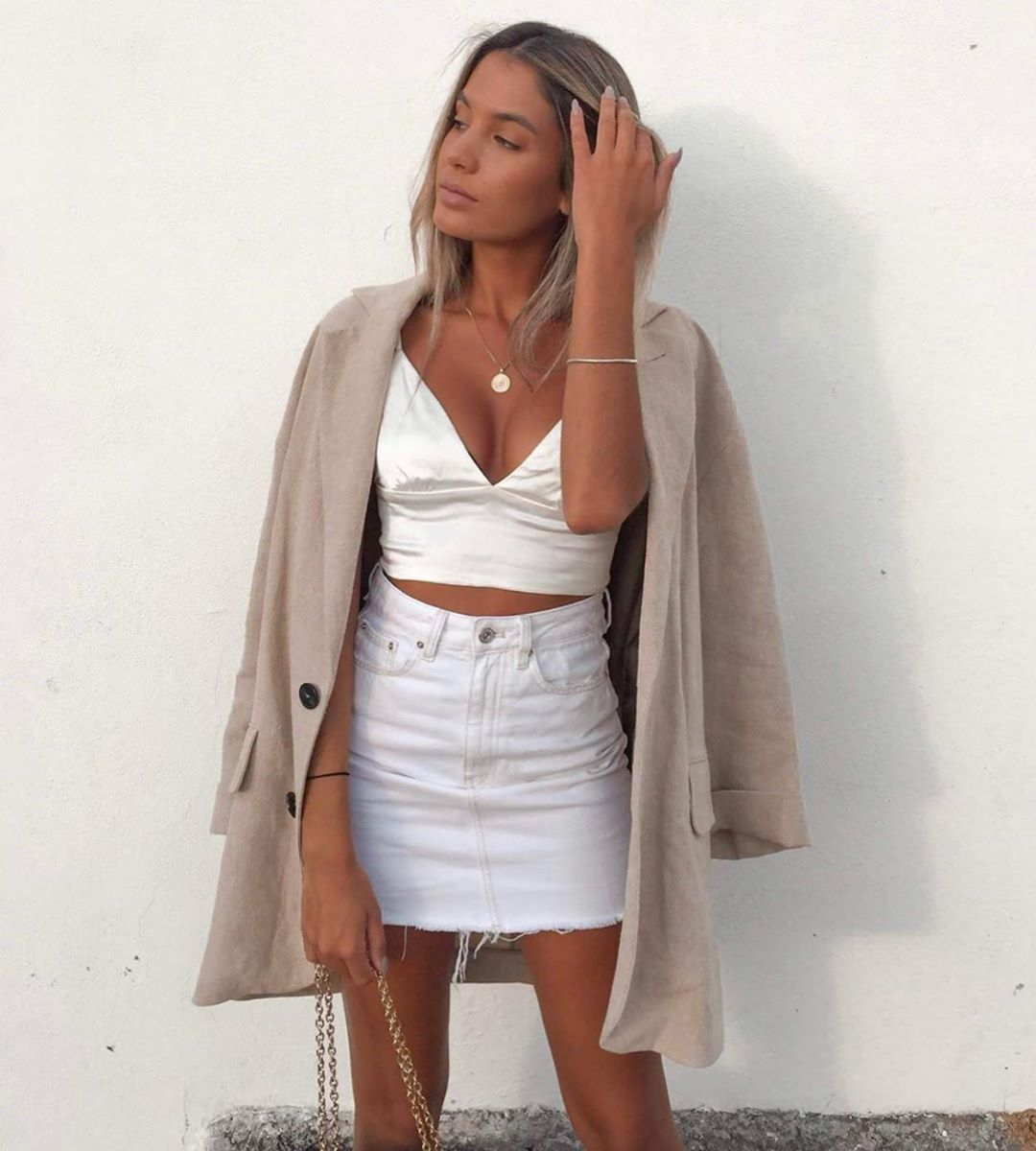 top court de Zara sur zara.outfits