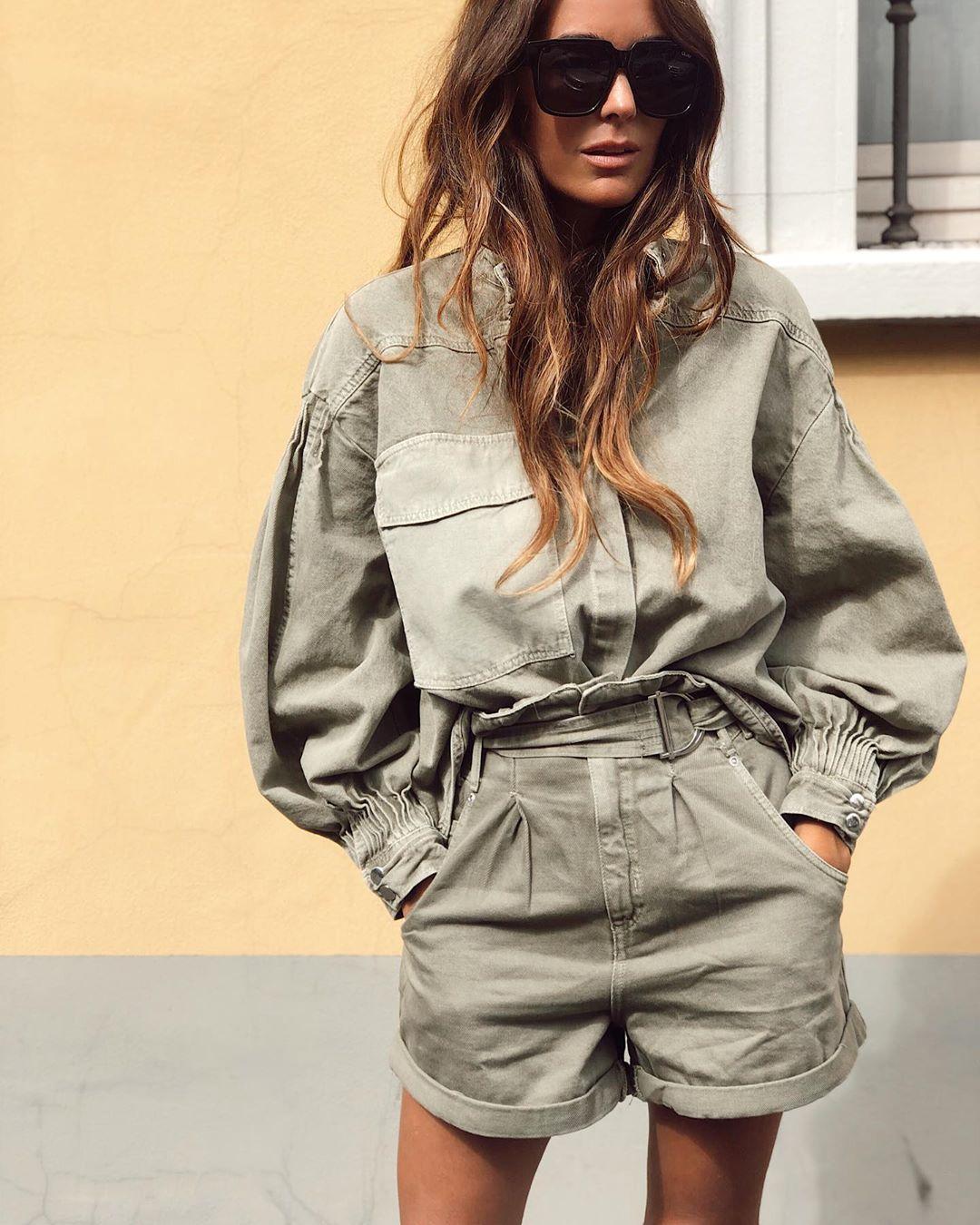 pleated shirt and pocket de Zara sur mariatilve
