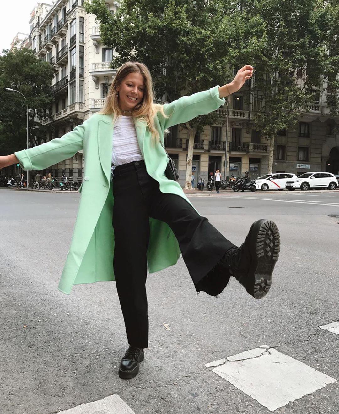 manteau avec poches à rabat de Zara sur zara.outfits