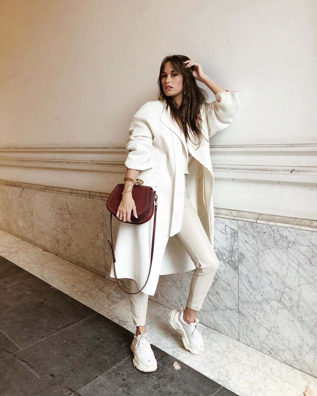 manteau à ceinture de Zara sur alisontoby