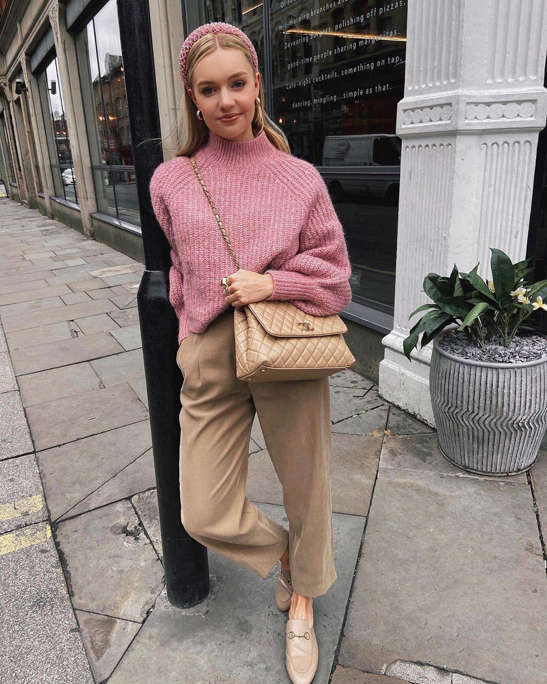 puff sleeve twist sweater de Zara sur lydiajanetomlinson