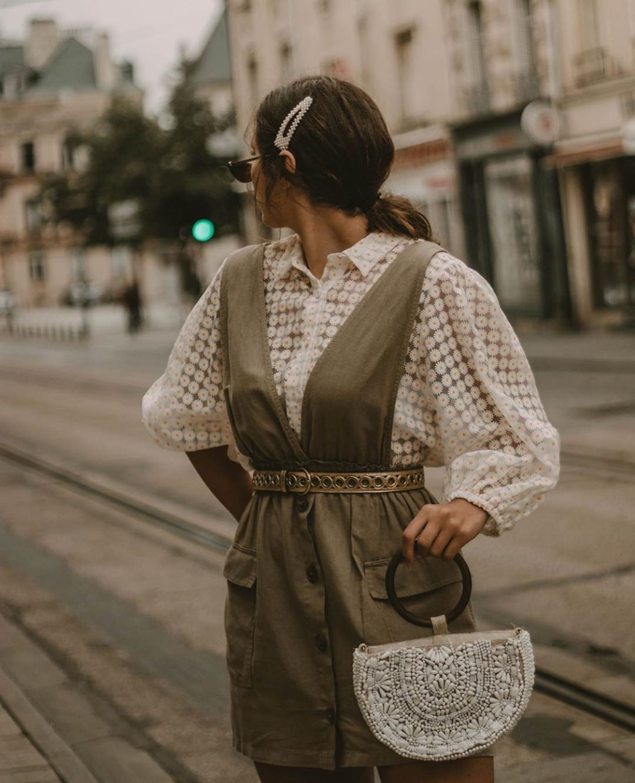 robe-salopette à poches de Zara sur zara.outfits