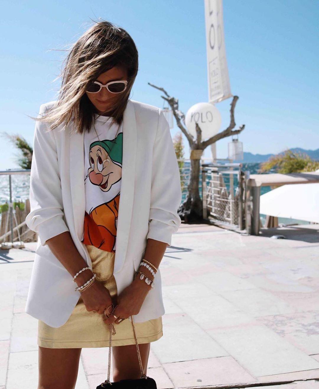t-shirt les sept nains ©disney de Zara sur zara.outfits