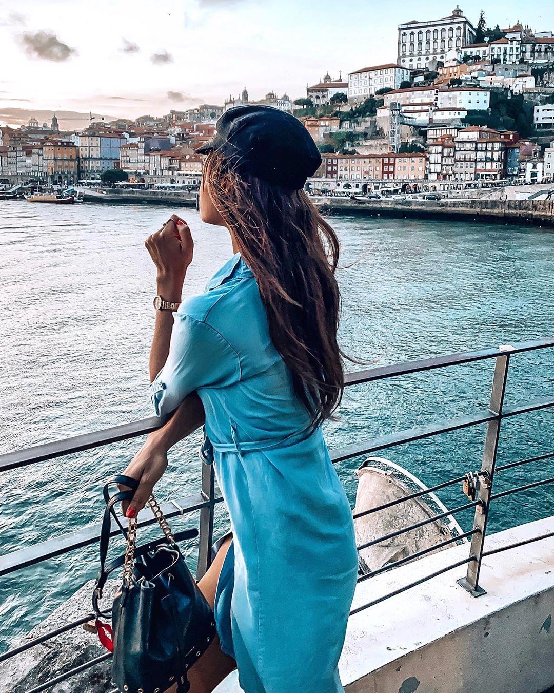 marine style cap de Zara sur celinemaufor