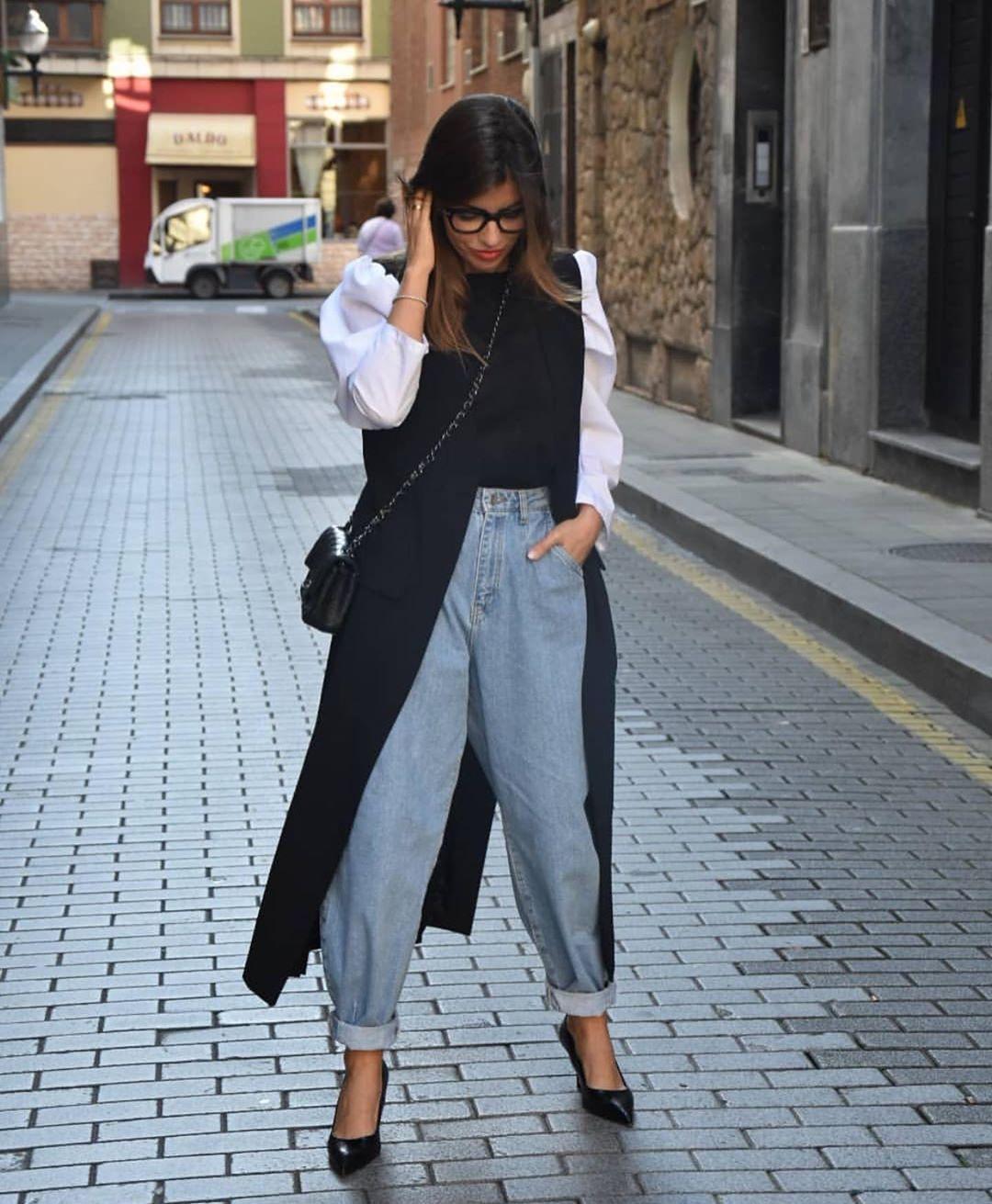 blouse in various materials with elastics de Zara sur zarastreetstyle