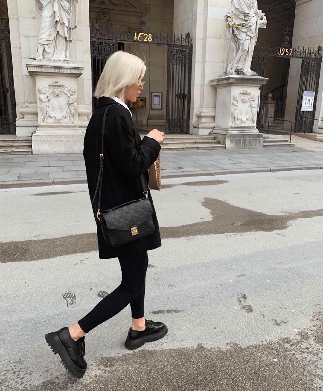 leggings with seams de Zara sur zarastreetstyle