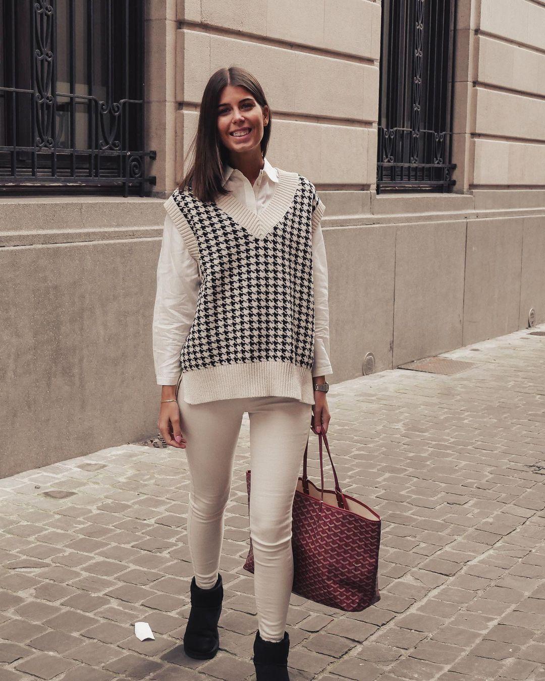 oversize mesh vest de Zara sur nooomsworld