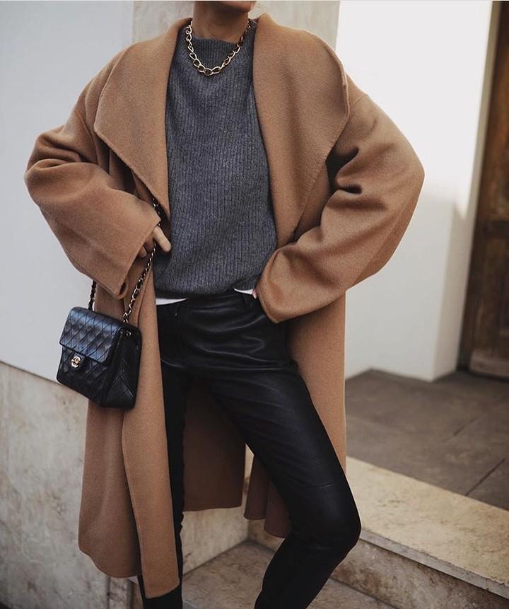 coat with patch pockets de Zara sur zara_streetstyles