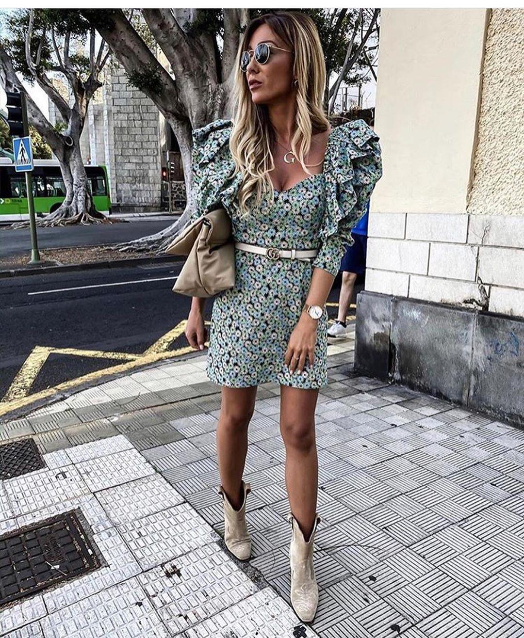poplin daisy dress de Zara sur look_by_zara_hm