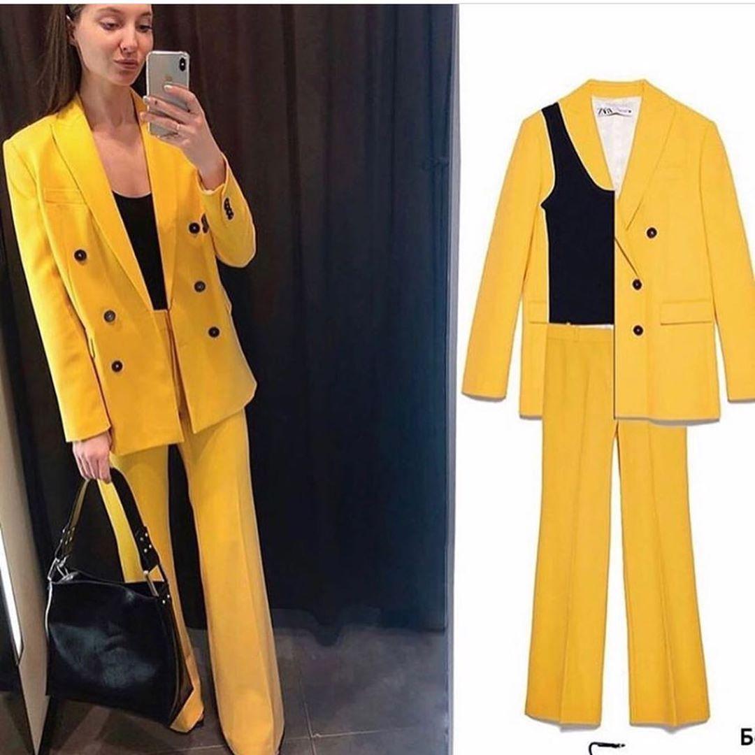button jacket de Zara sur look_by_zara_hm