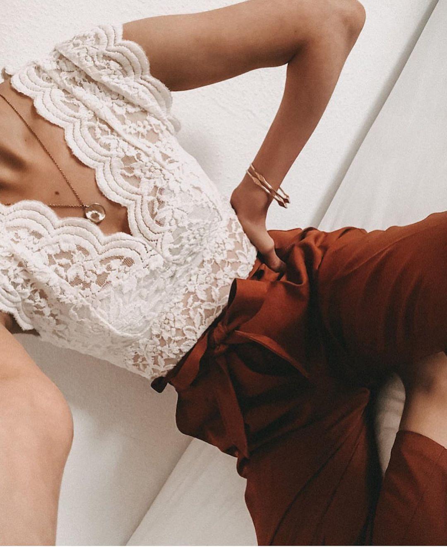 body en dentelle de Zara sur zara.outfits